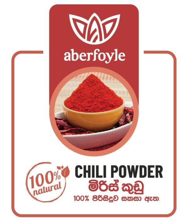 Aberfoyle Chili Powder Label